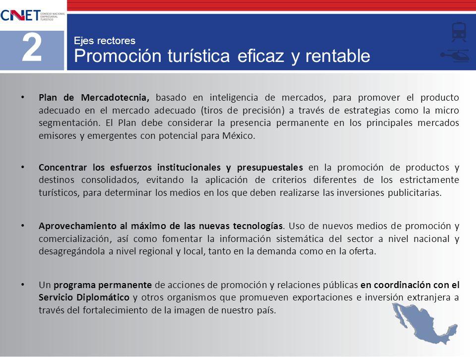 Promoción turística eficaz y rentable