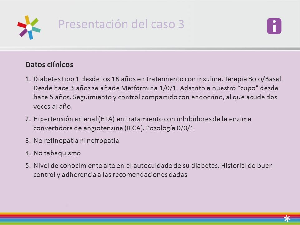 Presentación del caso 3 Datos clínicos