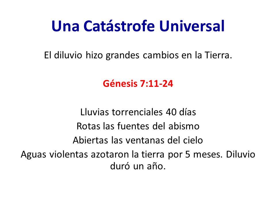 Una Catástrofe Universal