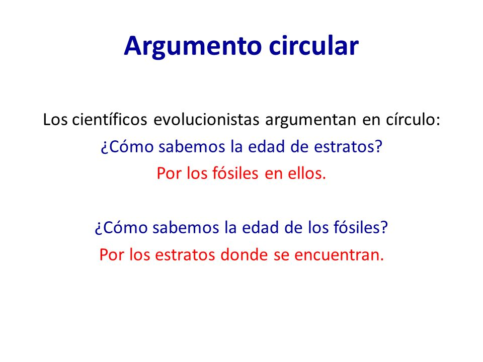 Argumento circular