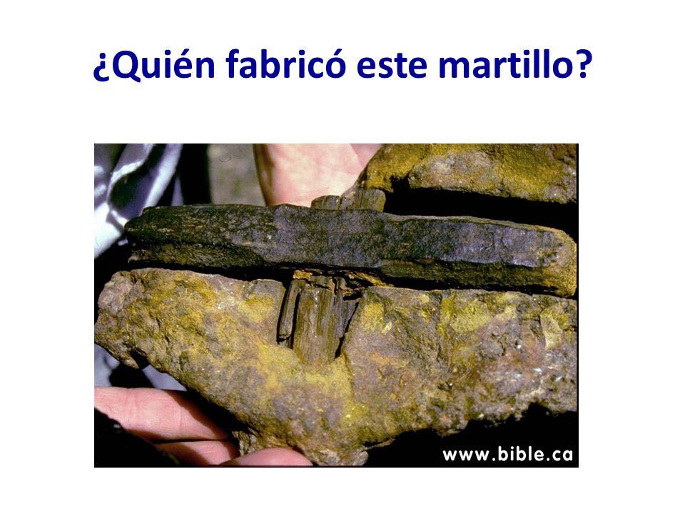 ¿Quién fabricó este martillo
