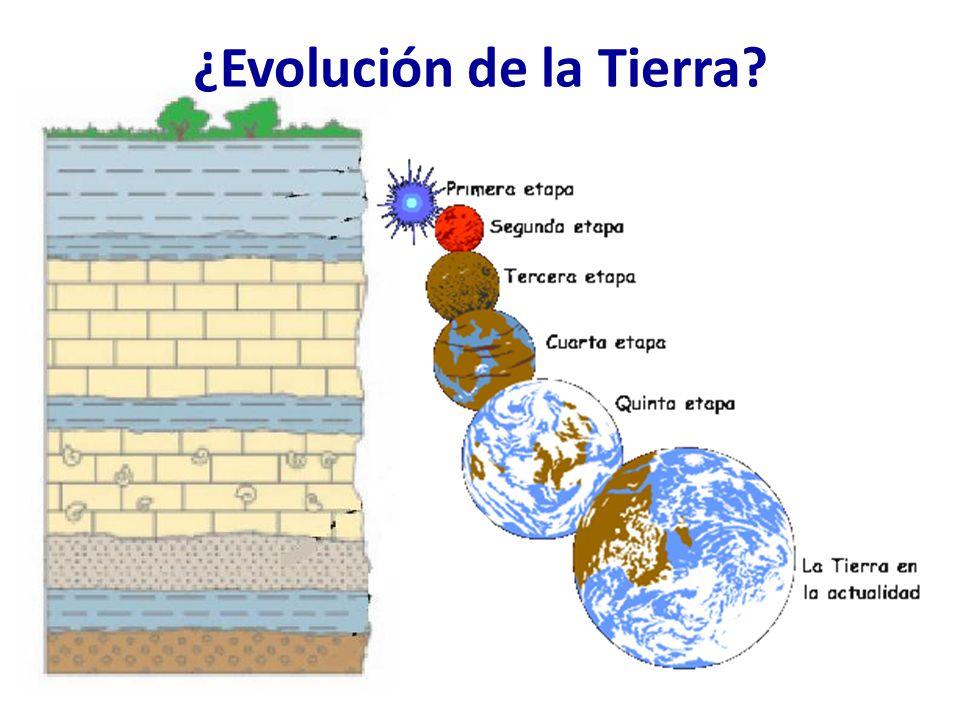 ¿Evolución de la Tierra