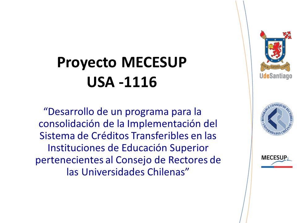 Proyecto MECESUP USA -1116