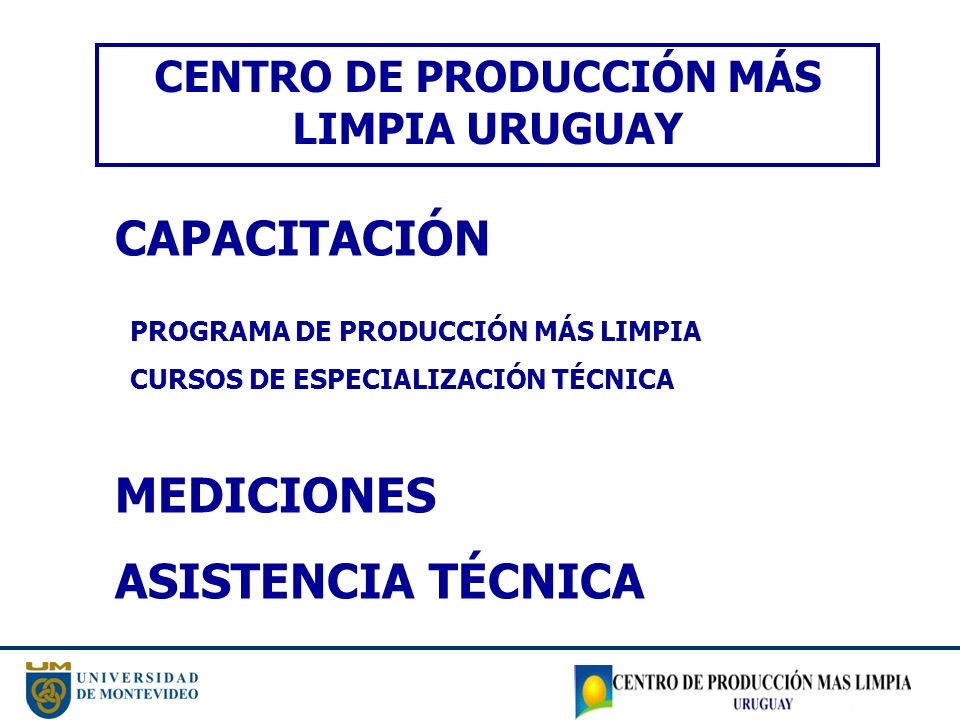 CENTRO DE PRODUCCIÓN MÁS LIMPIA URUGUAY