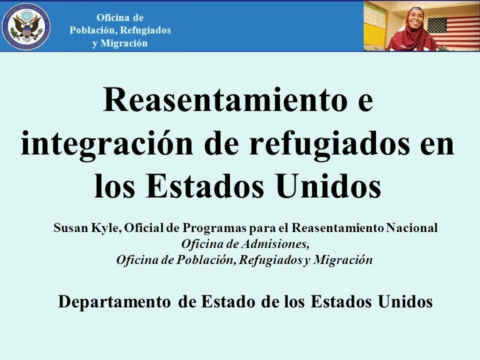 Reasentamiento e integración de refugiados en los Estados Unidos