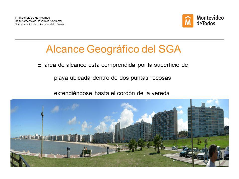 Alcance Geográfico del SGA