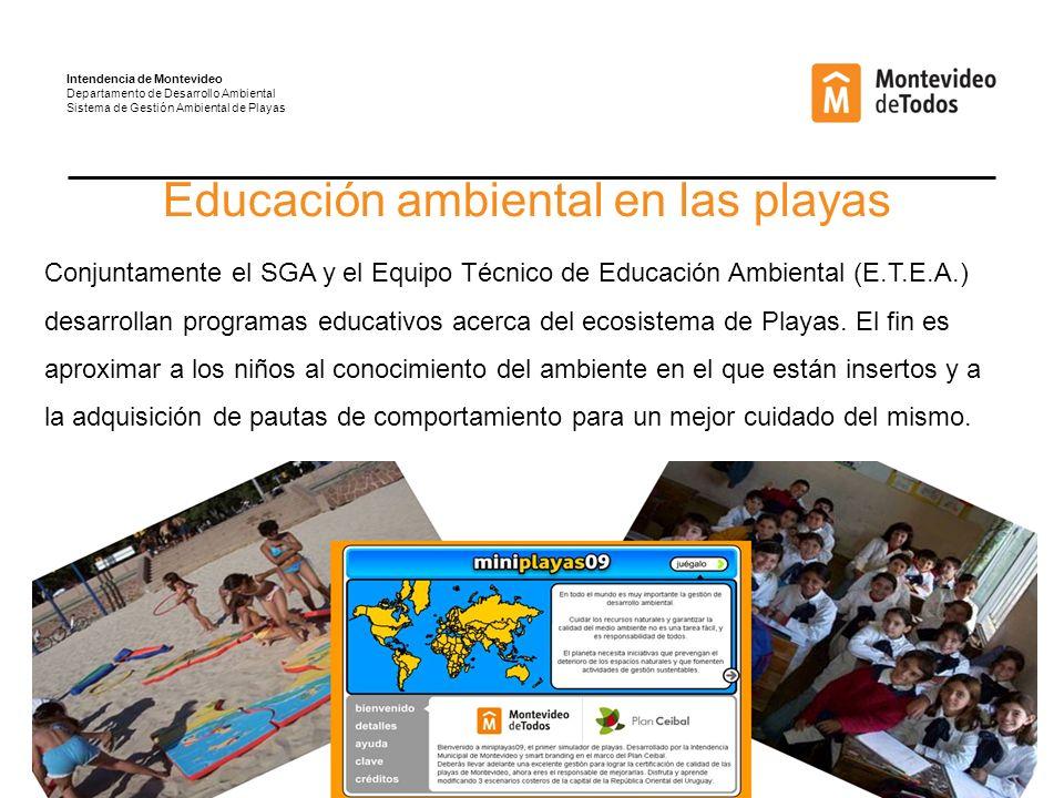 Educación ambiental en las playas