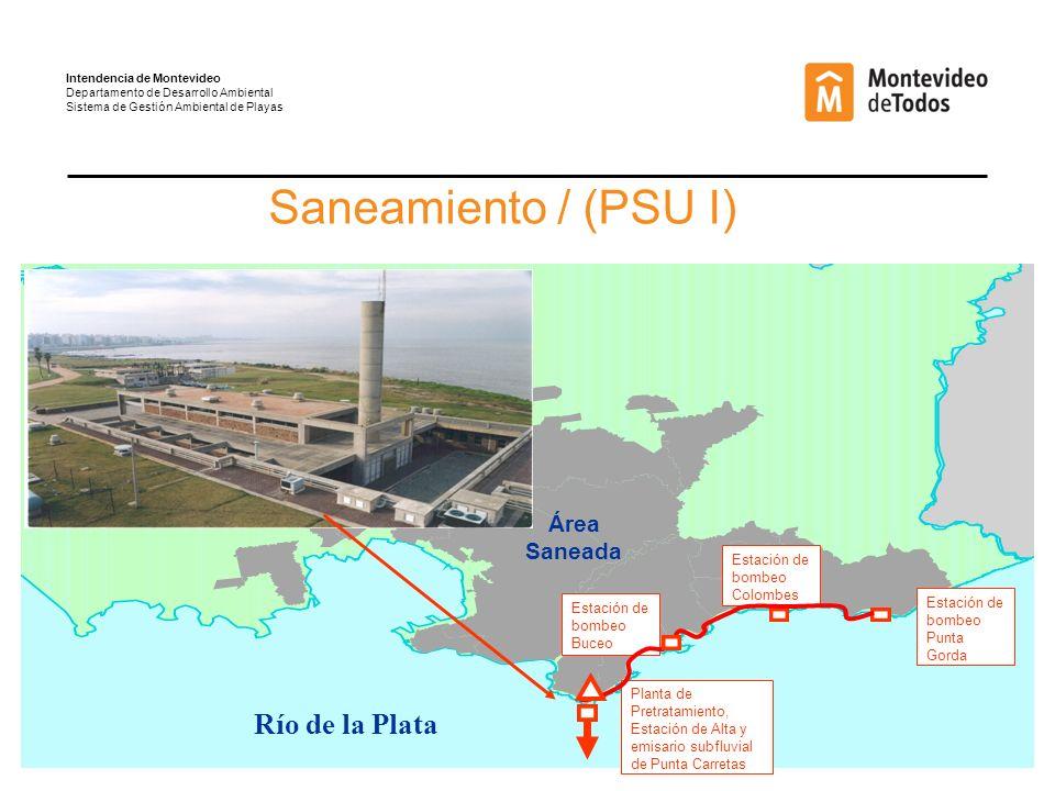 Saneamiento / (PSU I) Río de la Plata Área Saneada