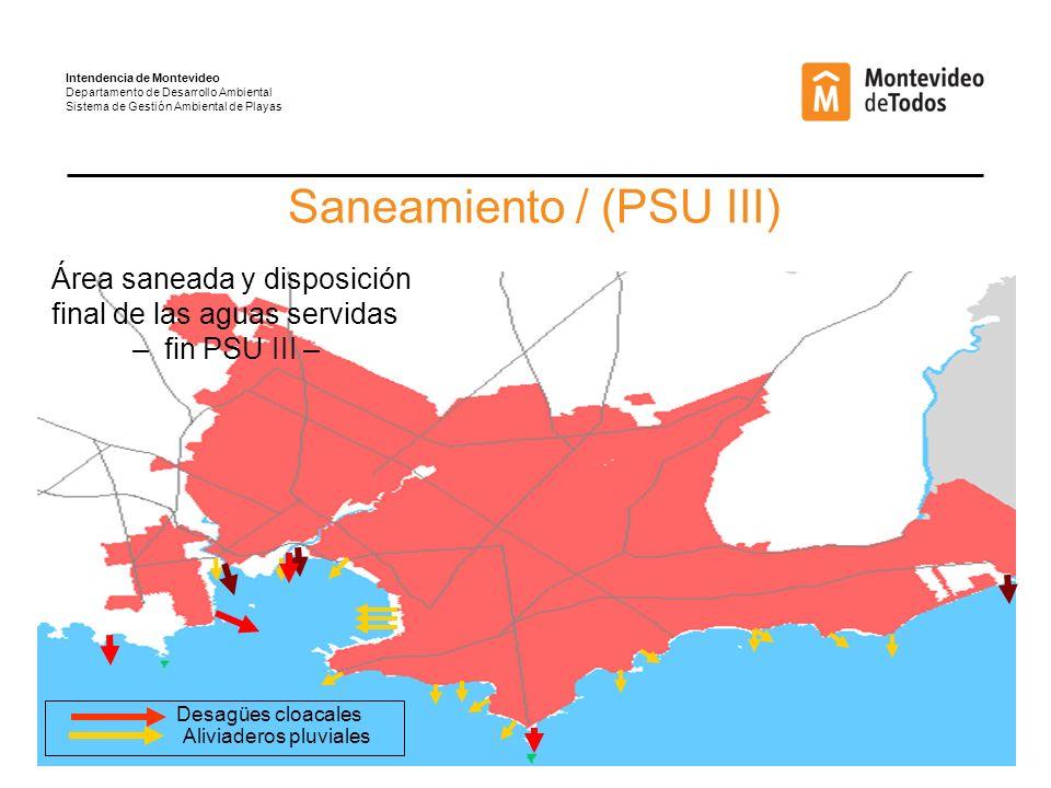 Saneamiento / (PSU III)