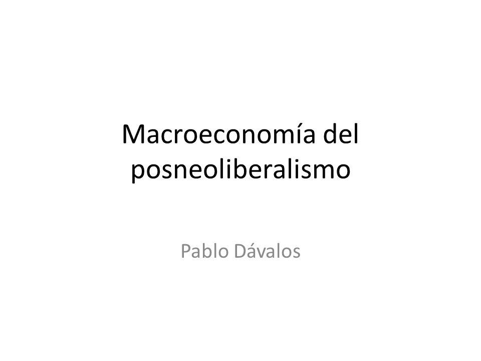 Macroeconomía del posneoliberalismo
