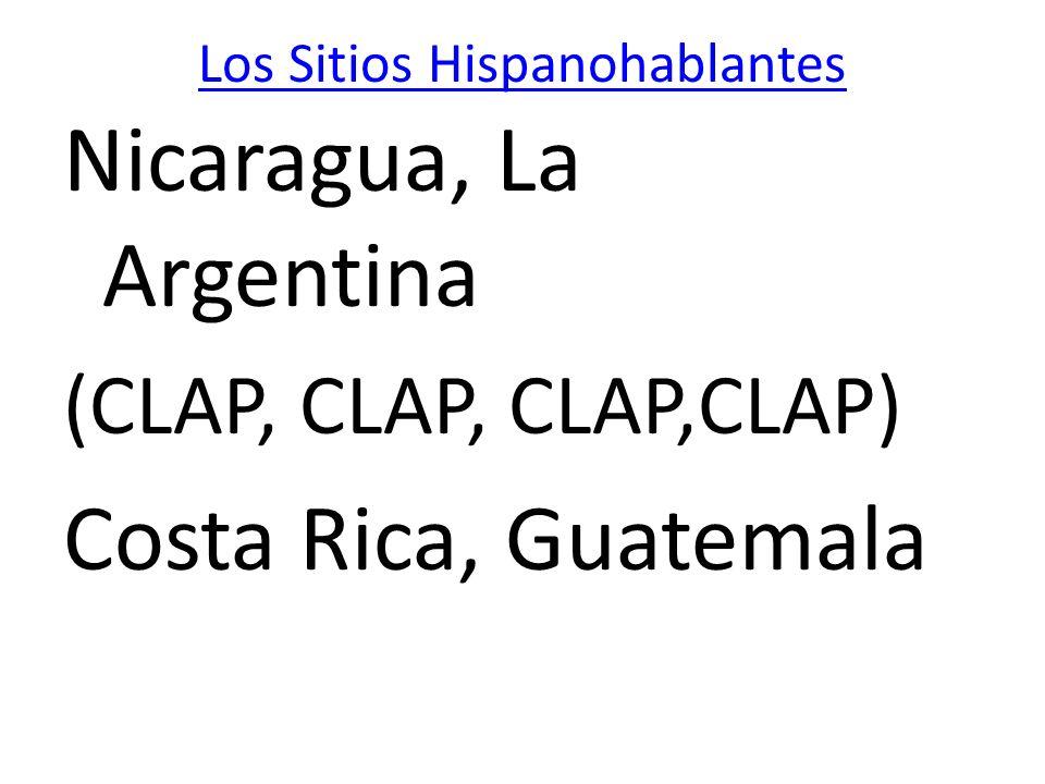 Los Sitios Hispanohablantes
