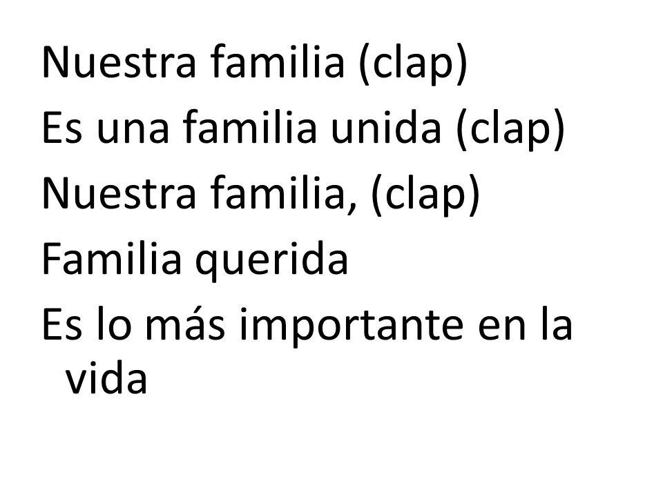 Nuestra familia (clap)