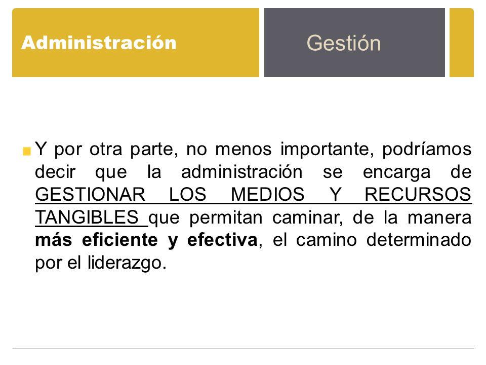 Gestión Administración