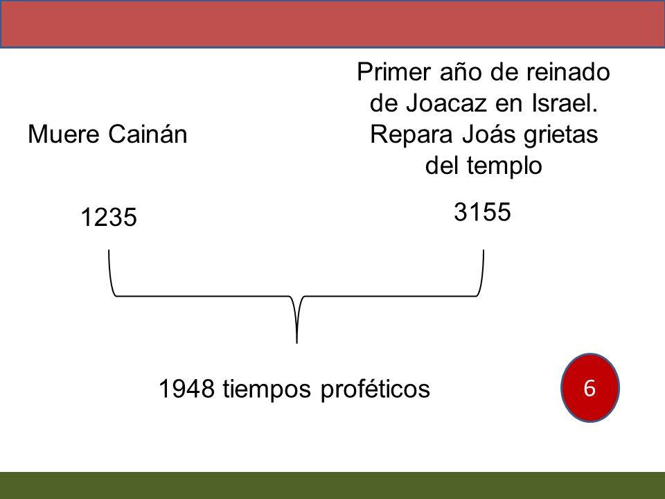 Primer año de reinado de Joacaz en Israel