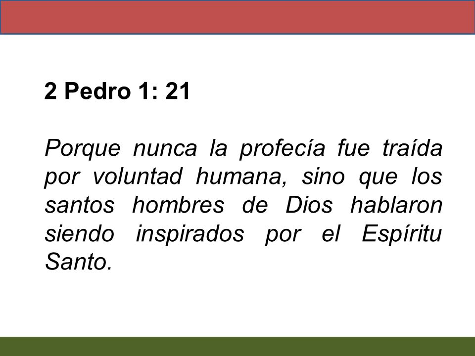 2 Pedro 1: 21