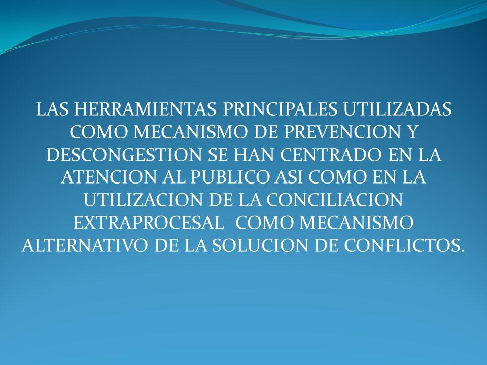 LAS HERRAMIENTAS PRINCIPALES UTILIZADAS COMO MECANISMO DE PREVENCION Y
