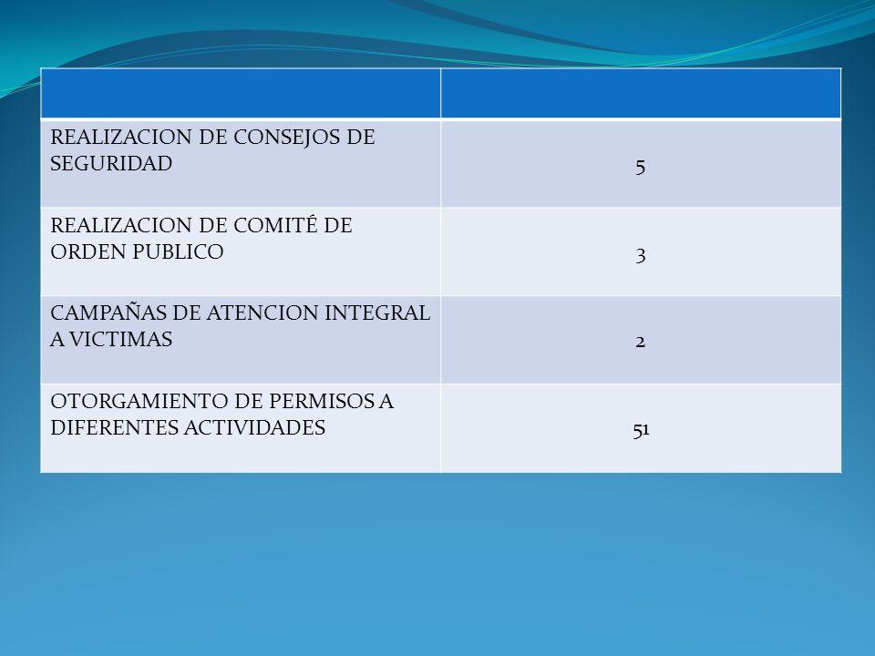 REALIZACION DE CONSEJOS DE SEGURIDAD