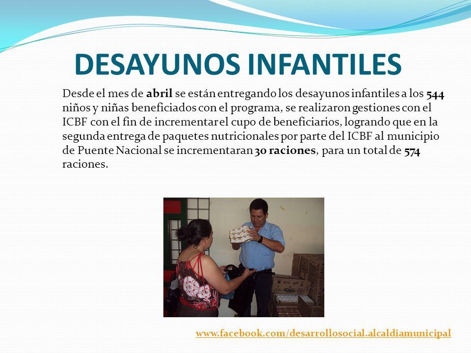 DESAYUNOS INFANTILES