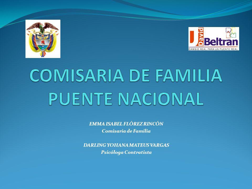 COMISARIA DE FAMILIA PUENTE NACIONAL