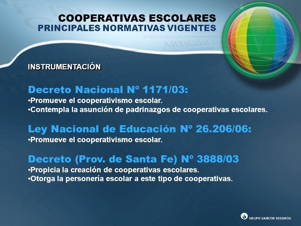 COOPERATIVAS ESCOLARES