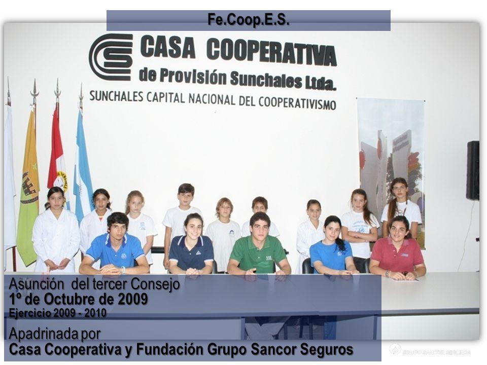 Asunción del tercer Consejo 1º de Octubre de 2009 Apadrinada por
