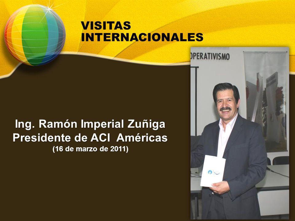 Ing. Ramón Imperial Zuñiga Presidente de ACI Américas