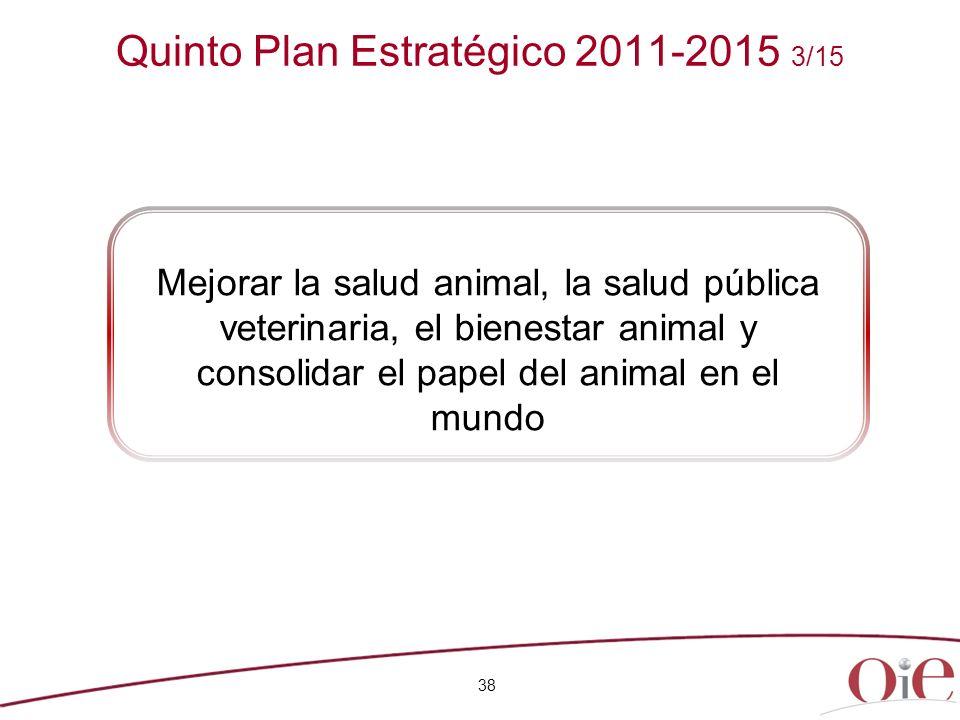 Quinto Plan Estratégico 2011-2015 3/15