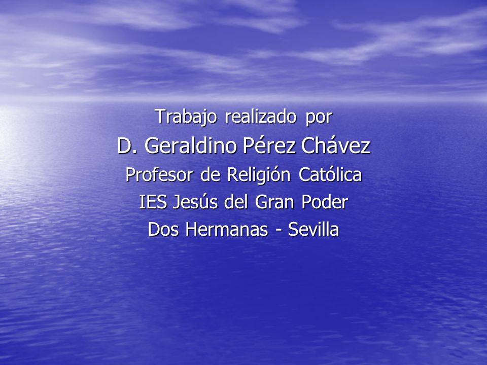 D. Geraldino Pérez Chávez