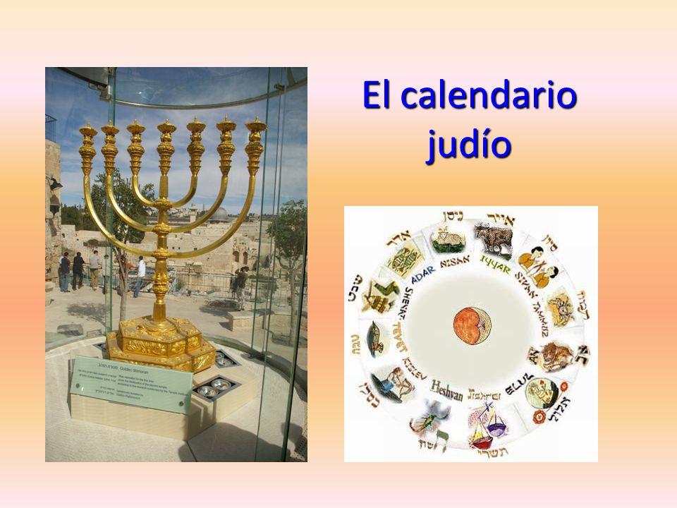 El calendario judío