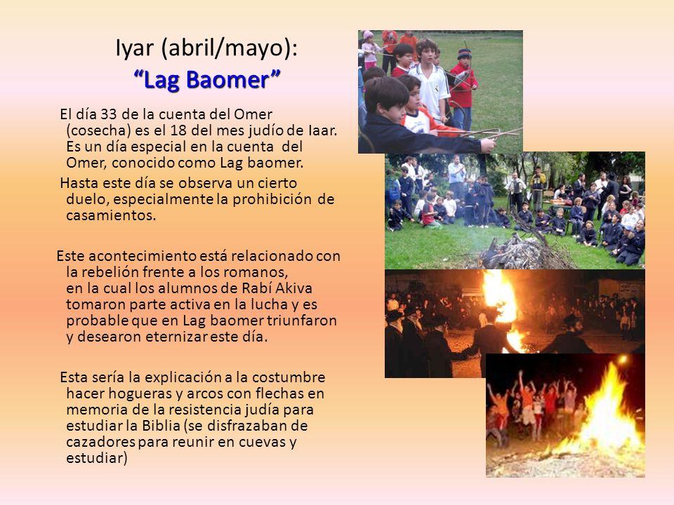 Iyar (abril/mayo): Lag Baomer