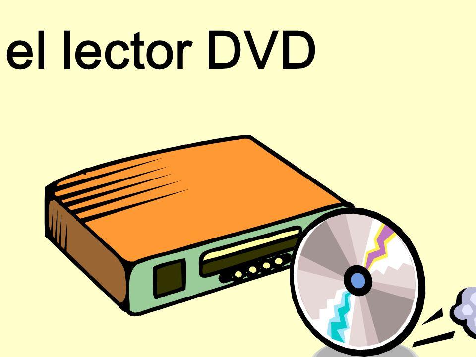 el lector DVD