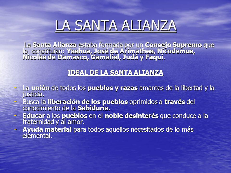 IDEAL DE LA SANTA ALIANZA