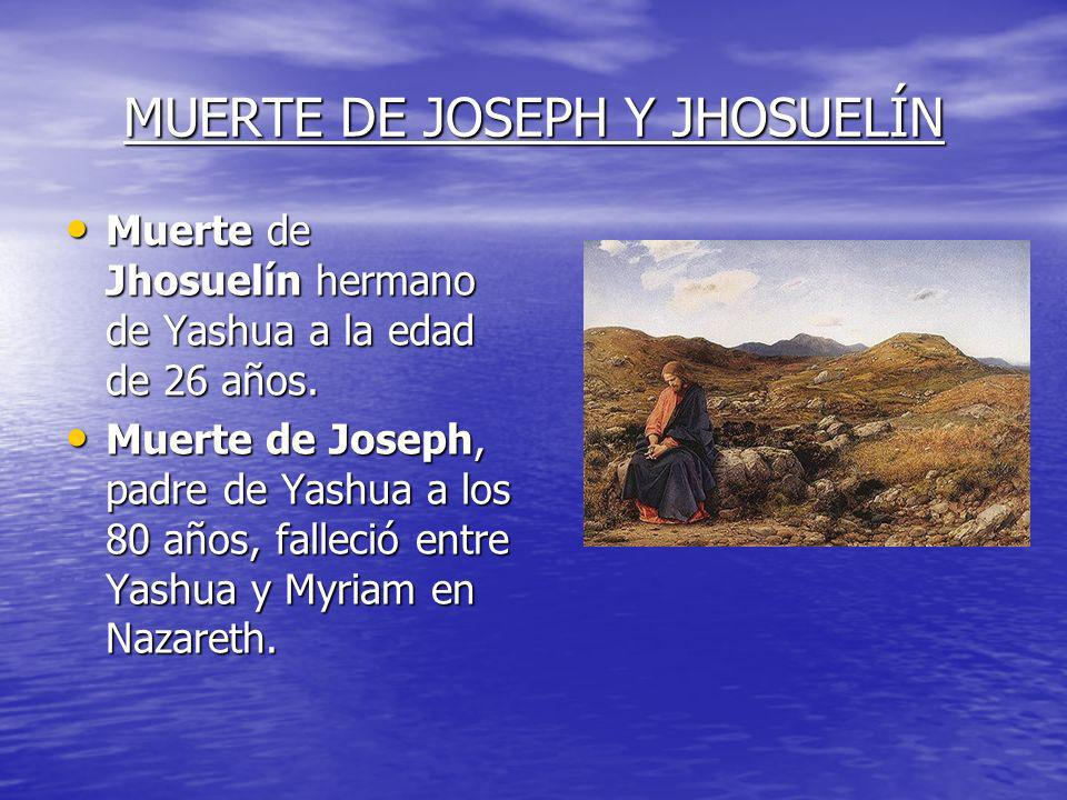 MUERTE DE JOSEPH Y JHOSUELÍN