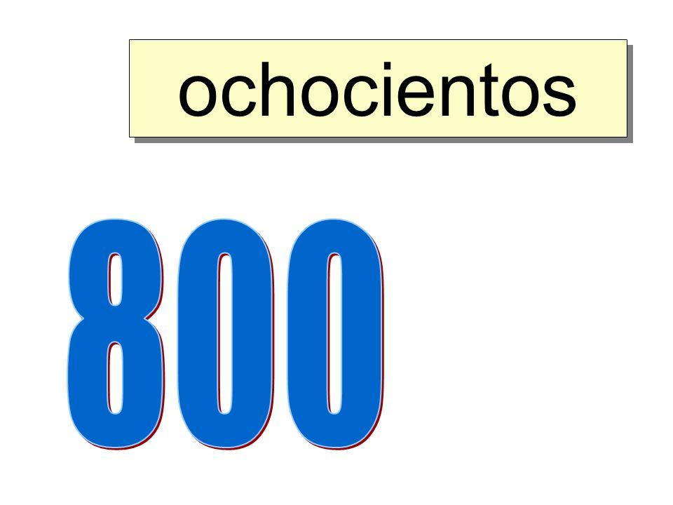 ochocientos 800