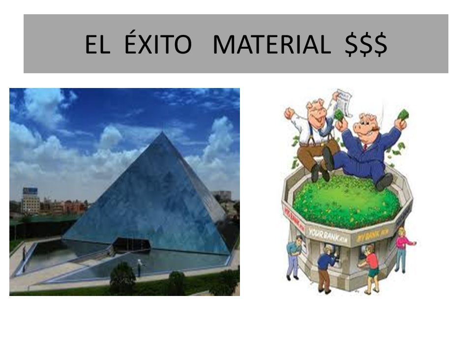 EL ÉXITO MATERIAL $$$