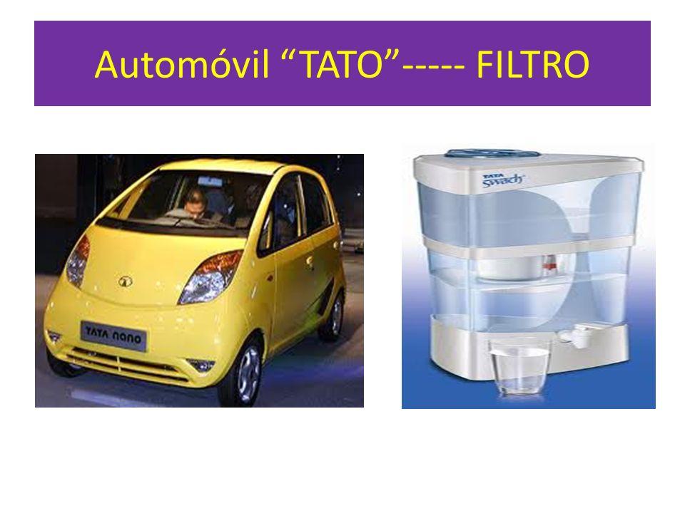 Automóvil TATO ----- FILTRO