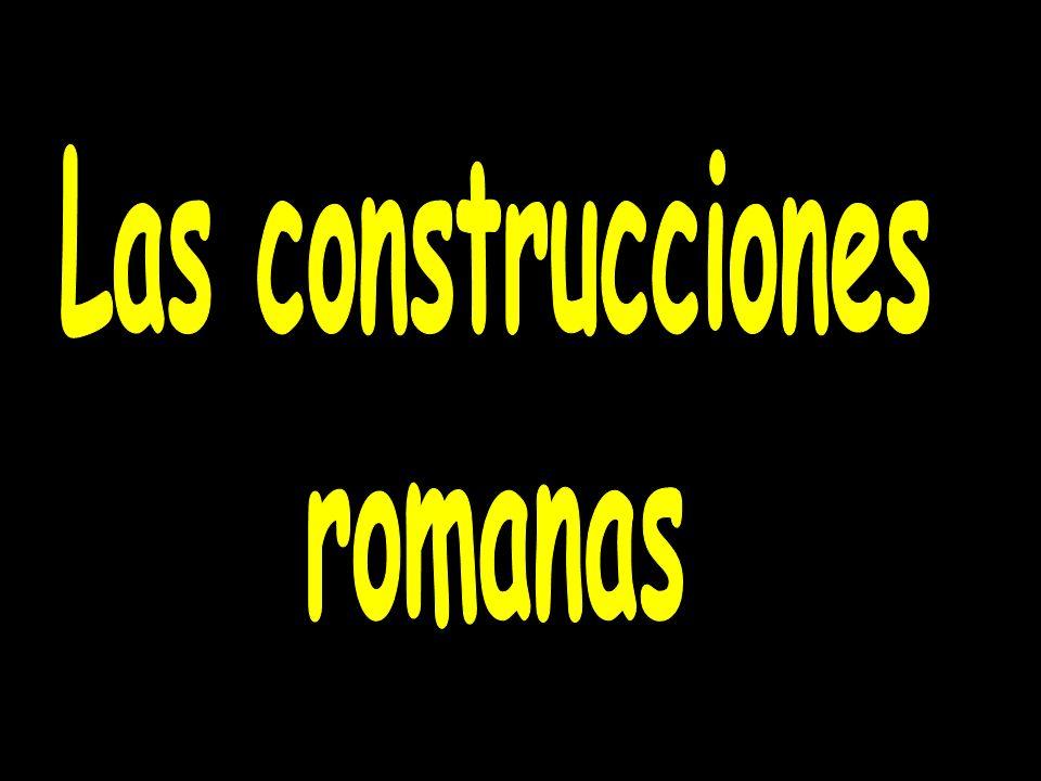 Las construcciones romanas