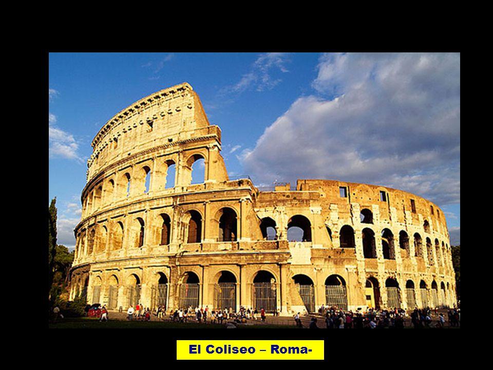 El Coliseo – Roma-