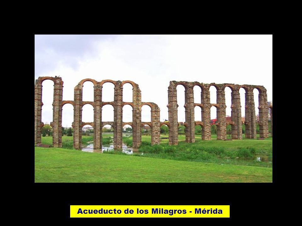 Acueducto de los Milagros - Mérida