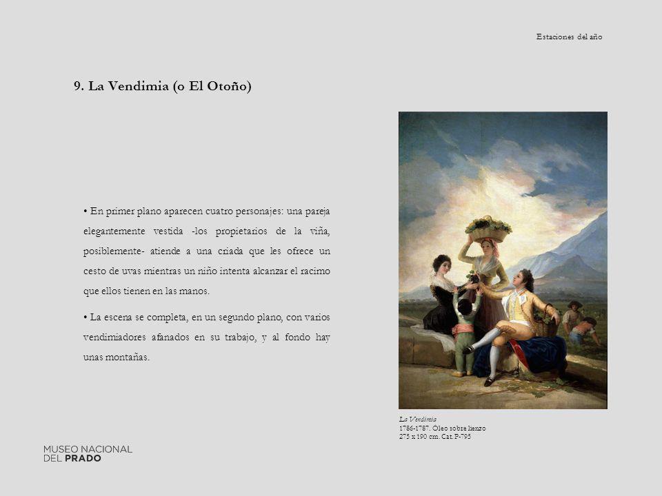 9. La Vendimia (o El Otoño)