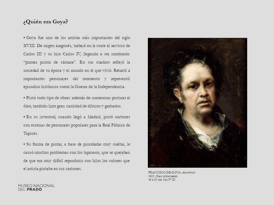 ¿Quién era Goya