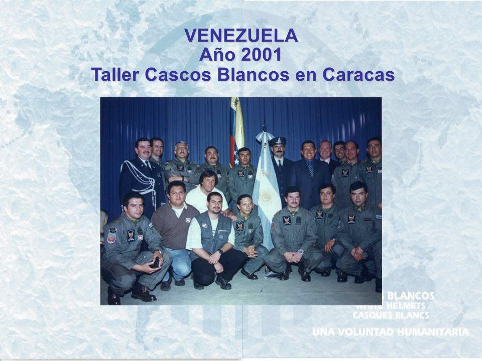 Taller Cascos Blancos en Caracas