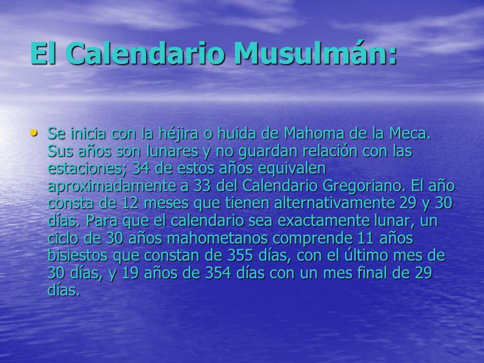 El Calendario Musulmán: