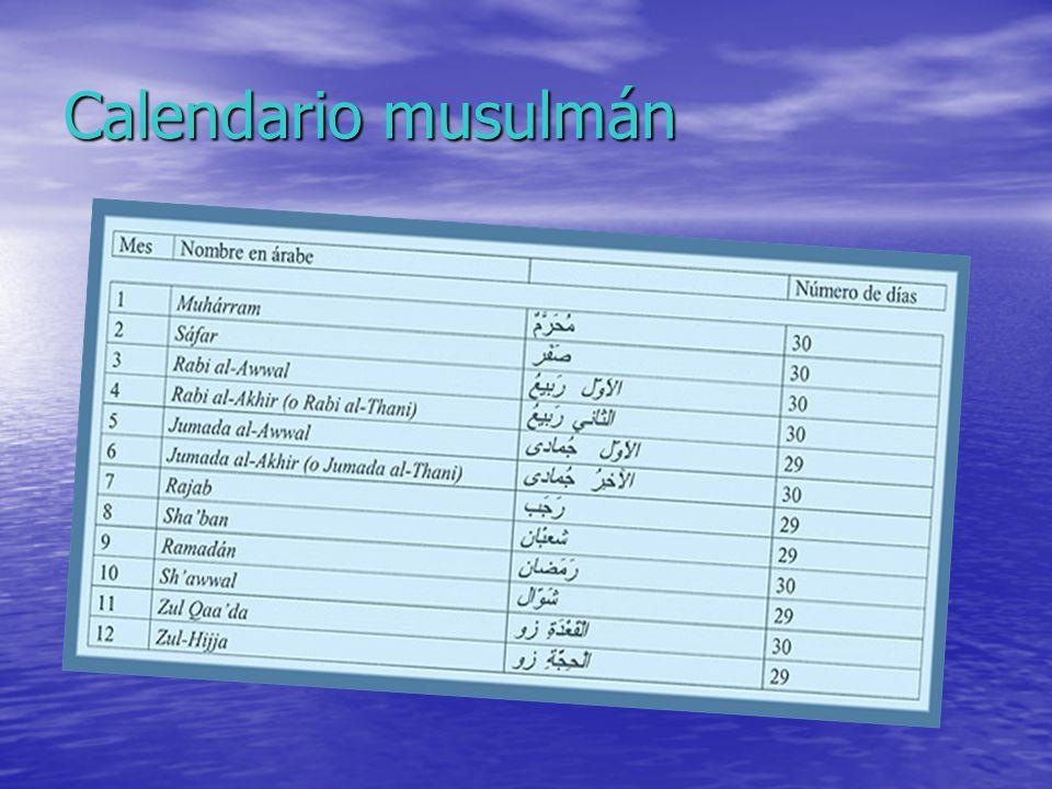 Calendario musulmán