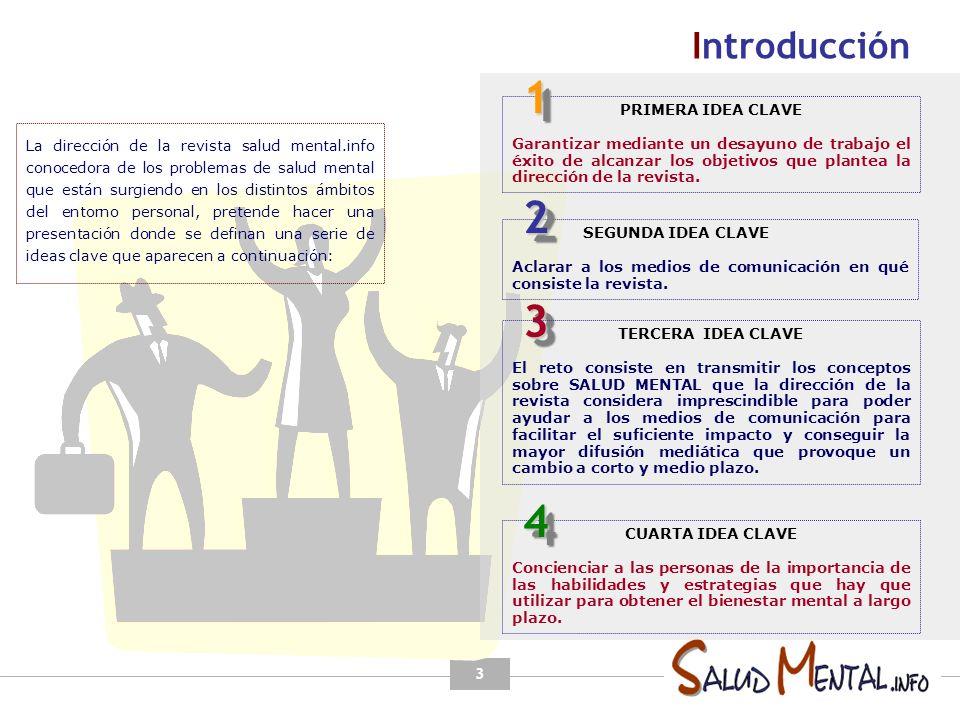 1 2 3 4 Introducción PRIMERA IDEA CLAVE