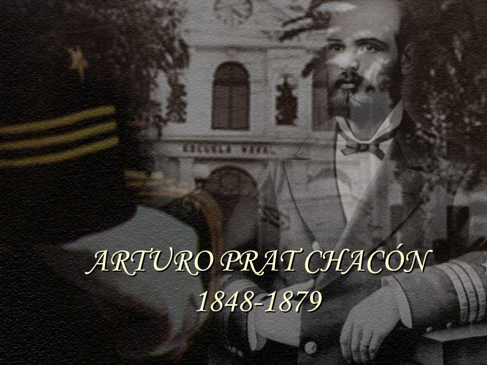 ARTURO PRAT CHACÓN 1848-1879