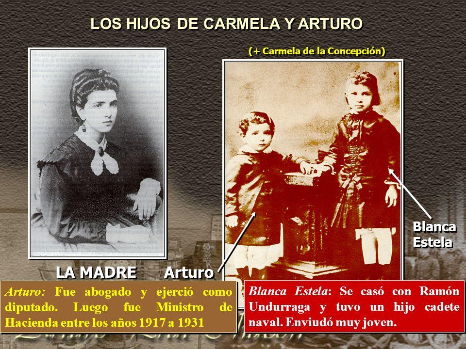 LOS HIJOS DE CARMELA Y ARTURO