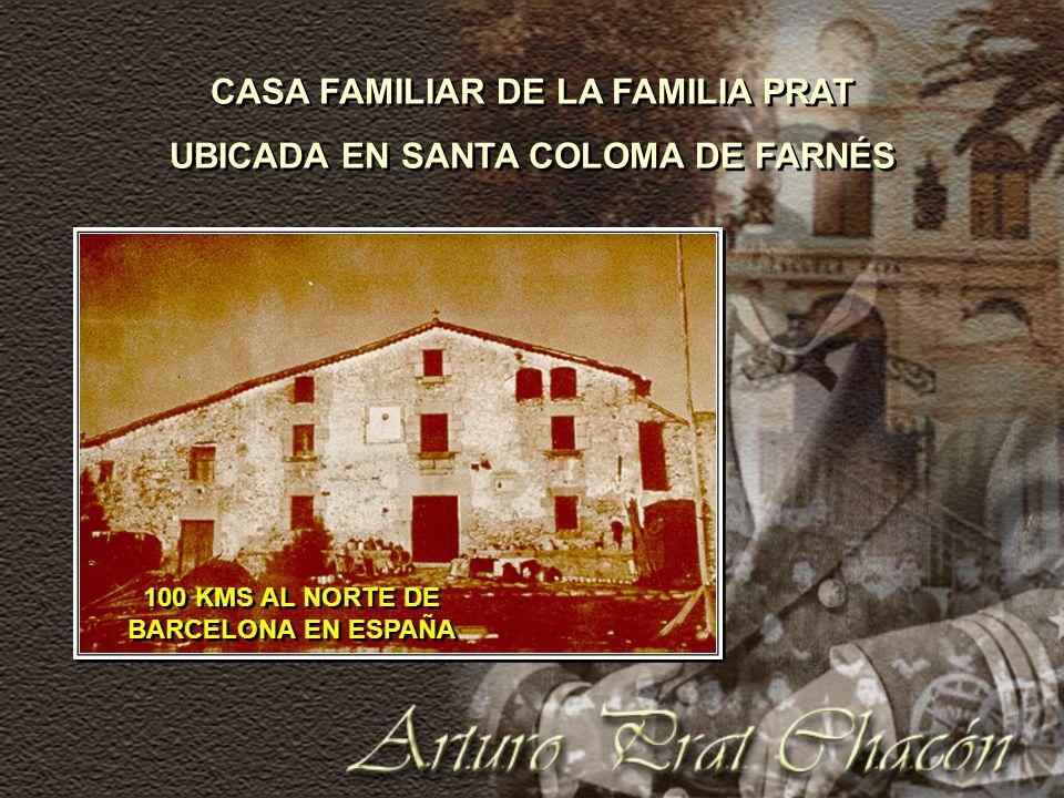 CASA FAMILIAR DE LA FAMILIA PRAT UBICADA EN SANTA COLOMA DE FARNÉS