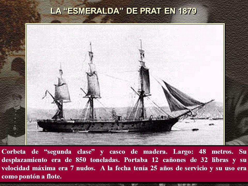 LA ESMERALDA DE PRAT EN 1879