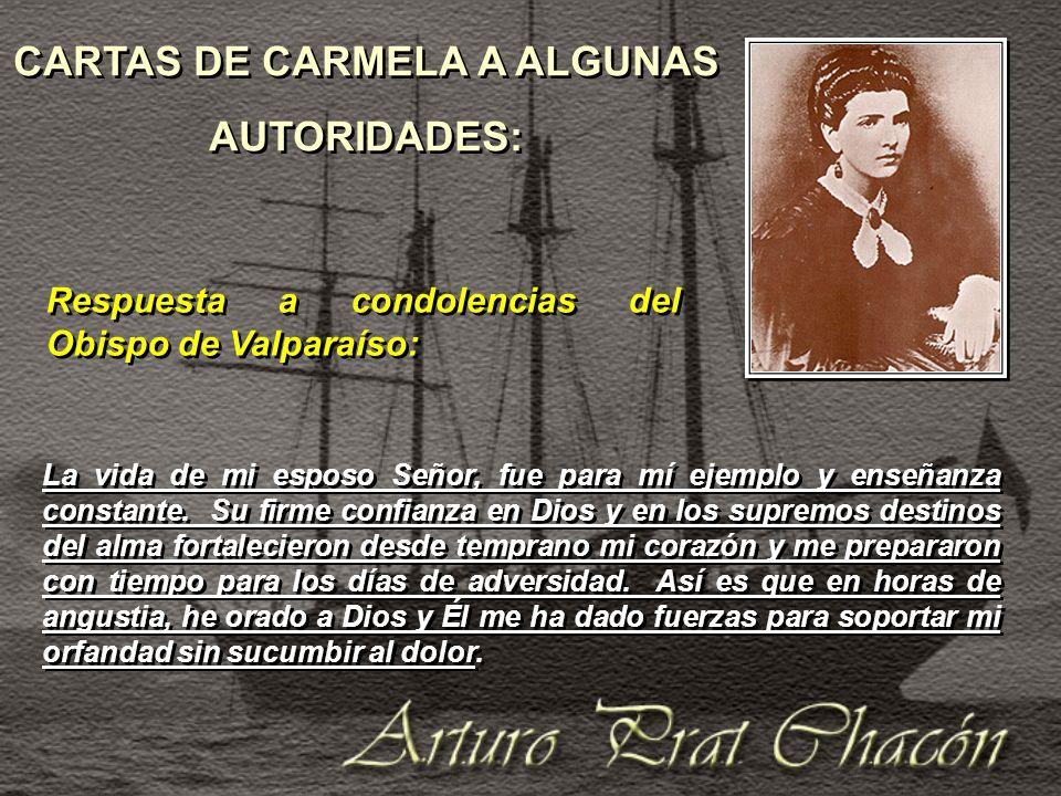 CARTAS DE CARMELA A ALGUNAS